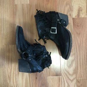 All Saints Harness Boots